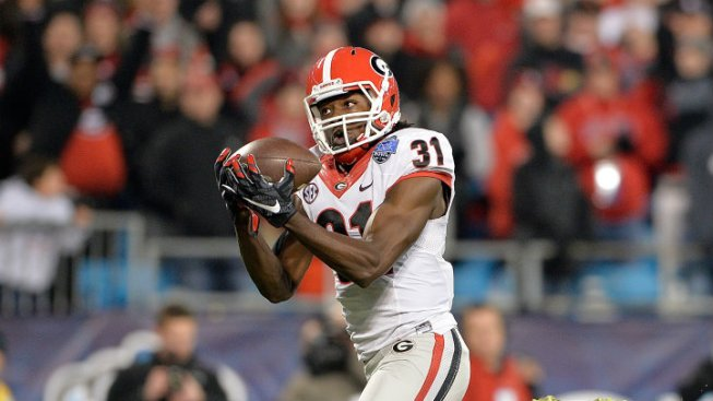 Cowboys Work Out Georgia Receiver Chris Conley