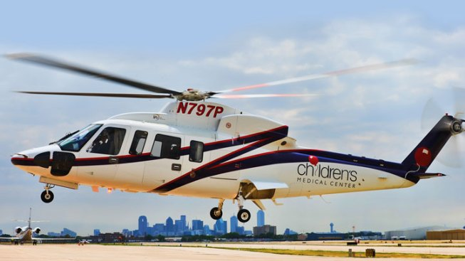 Children's Adds Chopper to Air Fleet