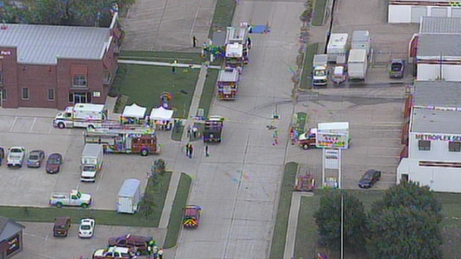 Colleyville Storage Facility Evacuated After Chemical Spill