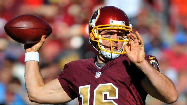 Report: RG3 Not Ready, Colt McCoy Will Start