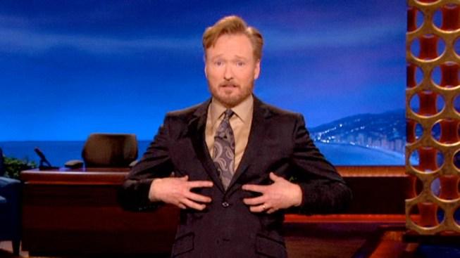 """Romney's Five Sons Drop By """"Conan"""""""