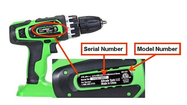 Cordless Drills Sold in Texas on Recall List