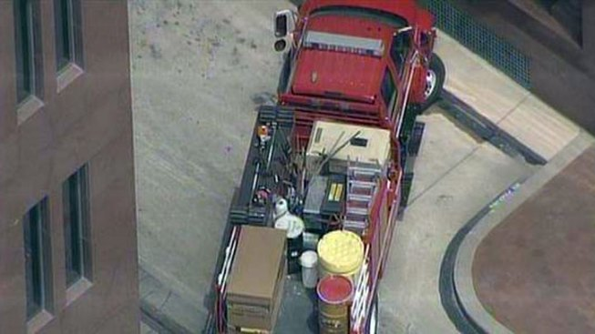 Hazmat Called to Sen. Cornyn's Dallas Office