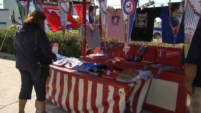Rangers Fans Warned About Fake World Series Tickets, Souvenirs