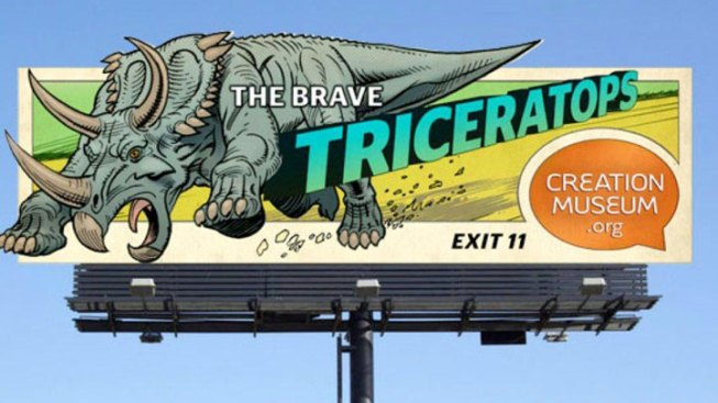 Biblical Museum Ad Campaign Features Dinosaurs