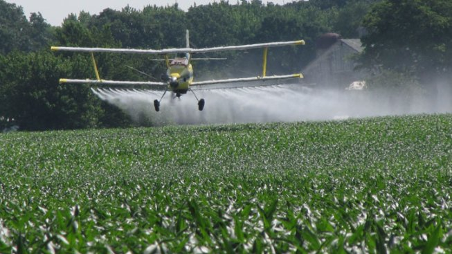 Rancher Shoots at Crop Dusting Plane