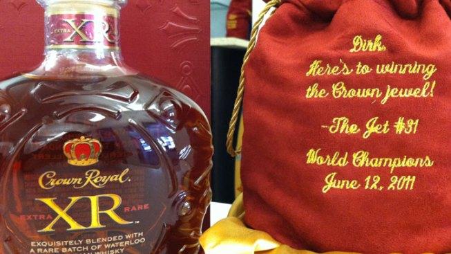Jet Gifts Teammates Rare Whiskey