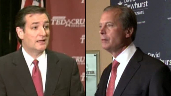 Dewhurst, Cruz in Second Senate Debate
