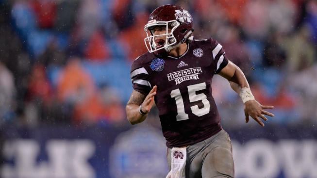 Cowboys Met with Miss. St. QB Dak Prescott at Senior Bowl