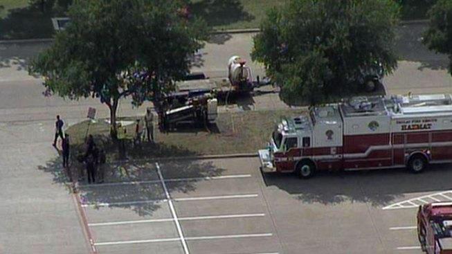 Dallas Gas Line Ruptured, Hazmat Called