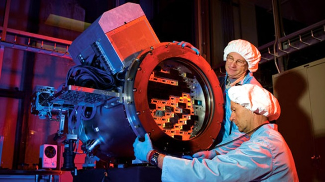 Giant Camera Will Look Back 7 Billion Years