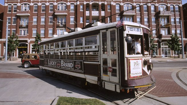 McKinney Avenue Trolley Stops for Upgrades