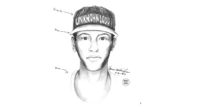 Sketch of Man That Shot Denton Homeowner on Doorstep Released