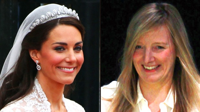 The Big Reveal: Catherine Middleton Wears Sarah Burton for McQueen