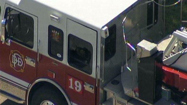 Dallas Firetruck Struck by Unidentified Flying Object: Police