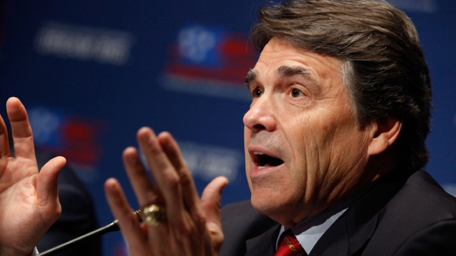 Perry Brushes Off Attack on Gay-Marriage Stance