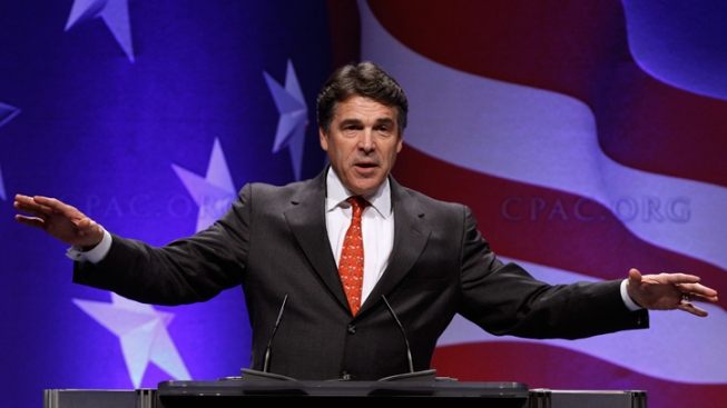 Gov. Perry Visits California Boy Scouts