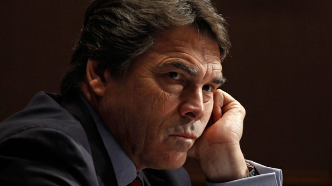 Perry's Name Not on Virginia Primary Ballot