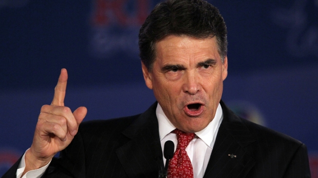 Perry Formally Announces Candidacy