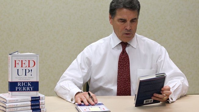 Perry's Book May Come Back to Bite Him