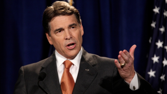 Perry Calls for Flat Tax