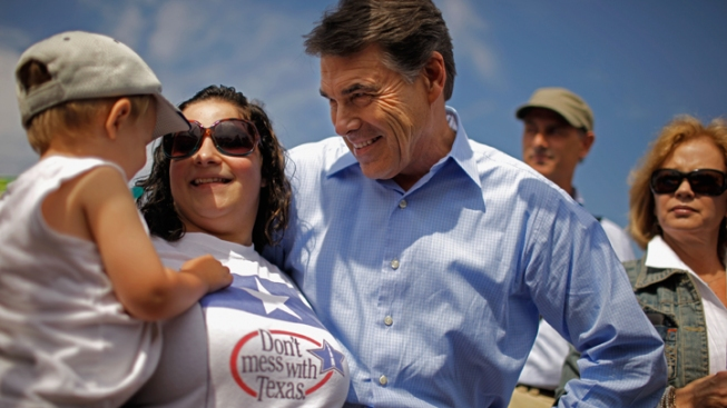 Gov. Perry Wrestles With Health Care Approach