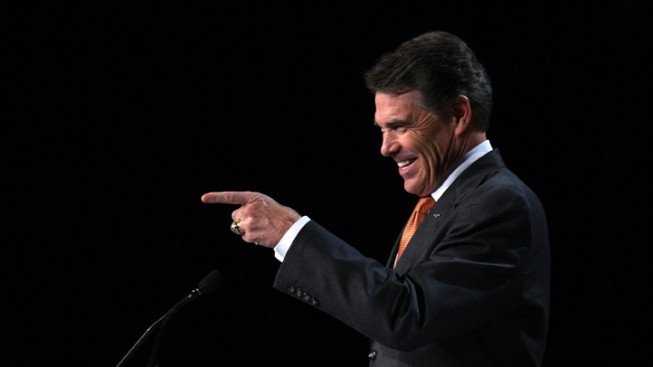 Perry Says He Could Handle Obama in Debate