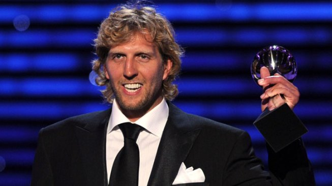 Nowitzki, Mavs Take Big Honors at ESPY Awards
