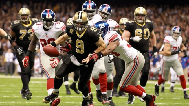 Big Queasy: Giants Routed in New Orleans