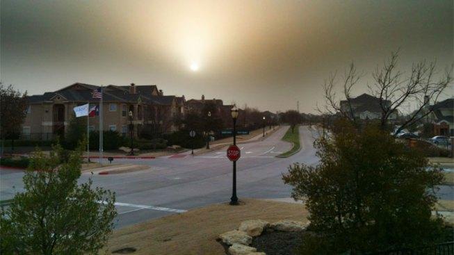 Dust Storm Cancels Flights