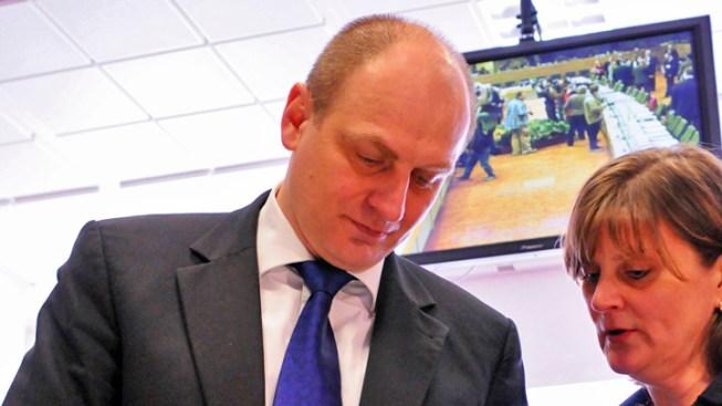 Czech Ambassador to Visit West, Scene of Explosion