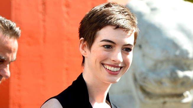 "Anne Hathaway Performing ""Cabaret"" for New York Public Theater"