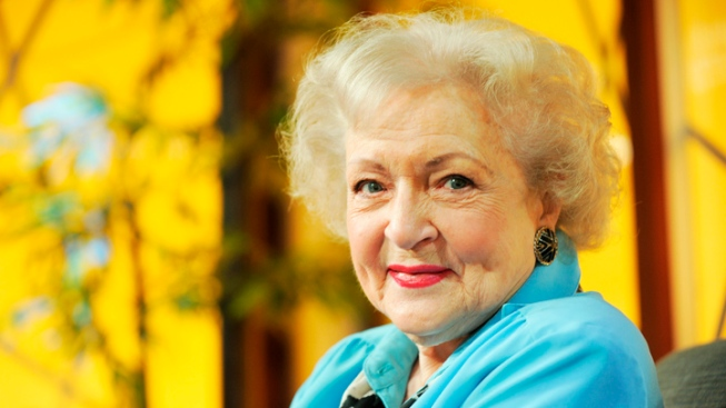 Movies, TV, Emmys - Just Another Day for Betty White