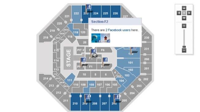 Sharing Arena Seat Information