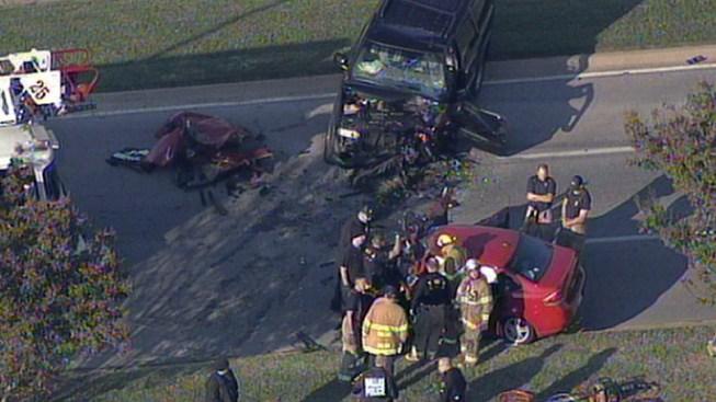 Dallas Car Crash Friday