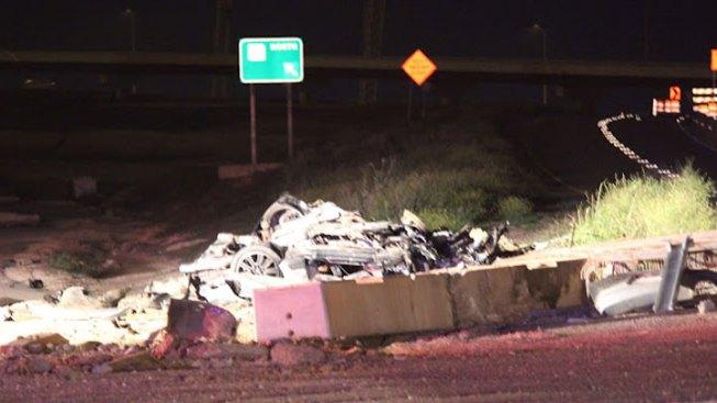 Man Killed In Violent Overnight Crash
