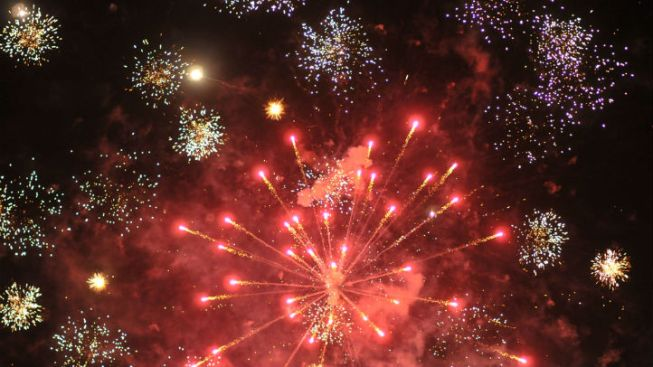 Fourth of July 2012 Fireworks in Dallas-Fort Worth