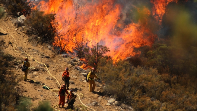 Mountain Fire Caused by Failed Electrical Equipment: Cal Fire