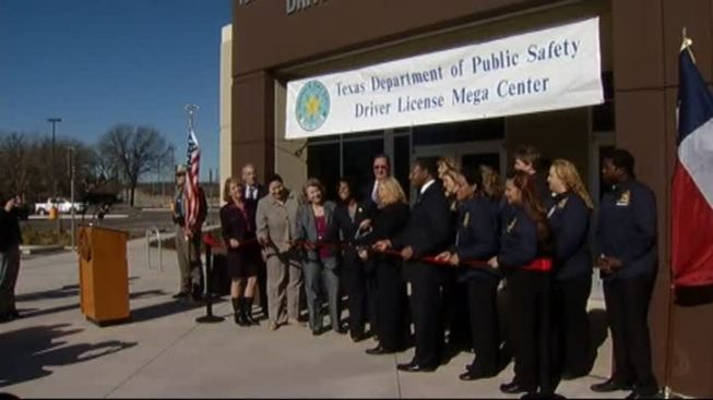 Texas DPS Opens New Mega Center in Fort Worth Friday
