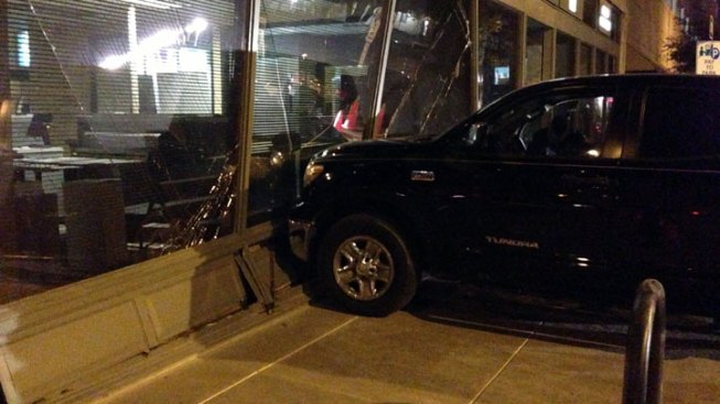 Woman Drives Truck Into Downtown Fort Worth Building