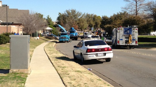 Gas Leak Shuts Down Fort Worth Streets