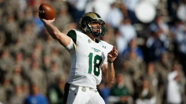 Colorado State QB Garrett Grayson to Visit Cowboys