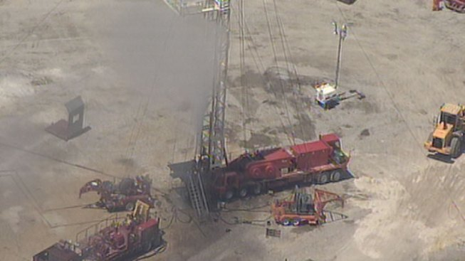 Leaking Gas Well Capped in Denton