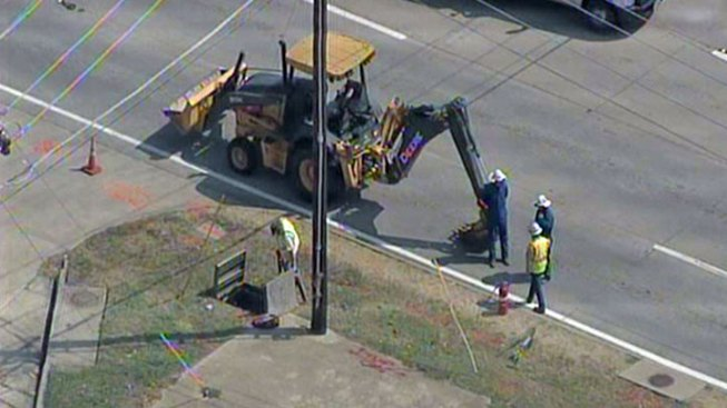 Gas Leak Reported in Lewisville