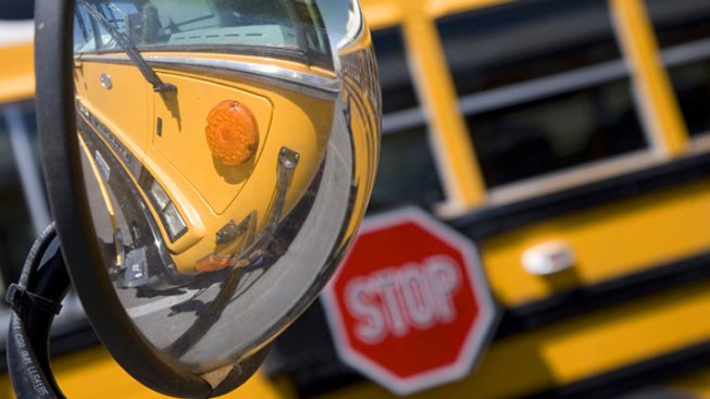 Two Injured in Mansfield School Bus Crash