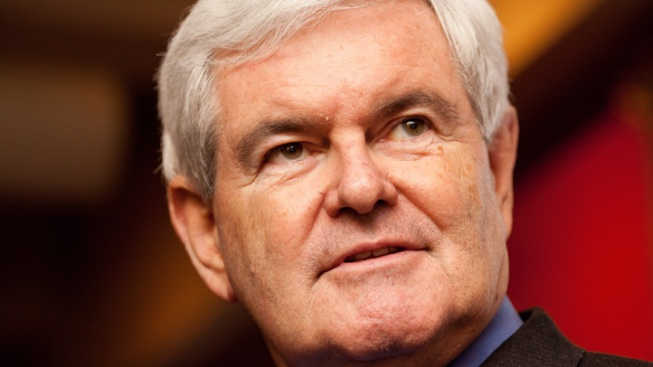 Gingrich Stumps in Dallas