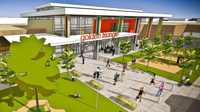 New Owners, Upgrades For Golden Triangle Mall