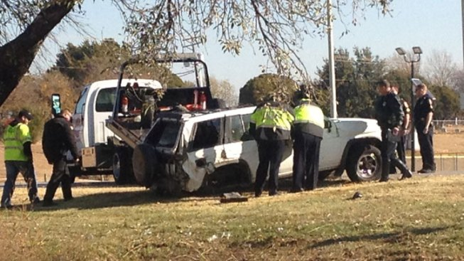 Infant Hospitalized, Father Killed in Rollover Crash