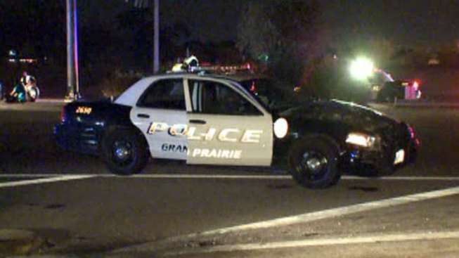 Grand Prairie Officer Involved in Crash