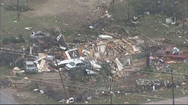 "Official: Granbury Tornado Left ""Total Devastation"""